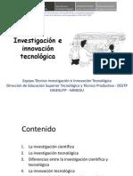 2 Definiciones Inv e Innov Tecnolog WRA