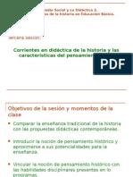 Corrientes y Pensamiento Histórico 2