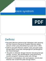 Meniere Syndrom