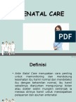 power point Ante Natal Care