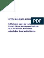 MSB09 Herramienta Para El Calculo de La Resistencia de Uniones Articuladas Descripcion Tecnica
