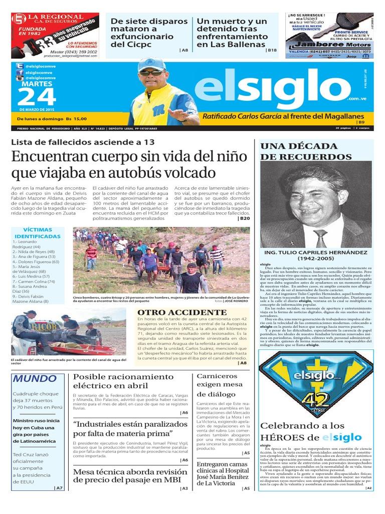 Edición impresa 24-03-2015