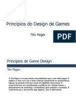 Game Design - Ten Pager