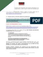 Contestacion Al Comunicado Liquidadores 13 de Marzo de 2015