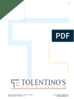 Tolentino's Consultoria - Apresentação e Portfolio 2015-01
