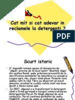 Publicitate Mincinoasa - Detergenti