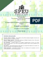 Tercera Circular SPEU PDF.