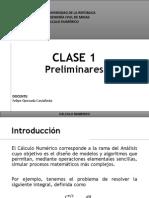 Clase 1 - Análisis Numérico