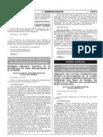 Directiva Prescripcion de La Accion Penal