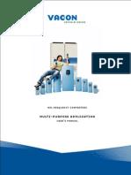 Vacon NXL Multi Purpose ALFIFF06 Application Manua