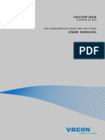Vacon Nxn Nfe User Manual Dpd01172a En
