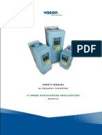 Vacon NXP 3 Speed Positioning APFIFF15 Application