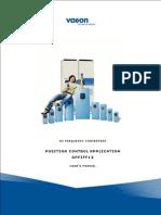 Vacon NX Position Control APFIFF12 Application Man