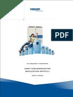 Vacon NXP Shaft Sync APFIFF11 Application Manual U