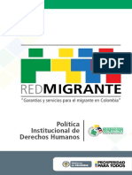 Cartilla Red Migrante