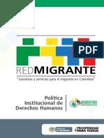 Cartilla Red Migrante