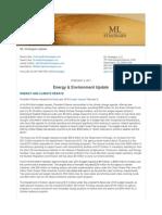 Nota Energy & Environment Ubdate