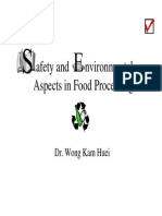 Safety and Environmental Aspects