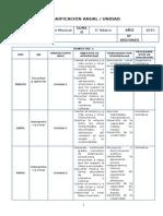 Musica Planificacion - 5 Basico