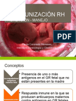 Isoinmunización Rh