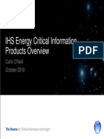 IHS Energy Product Overview Oct 2010