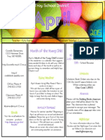 april 2015 newsletter