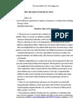 Academic Reading Ielts