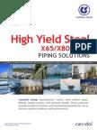 API steel grade