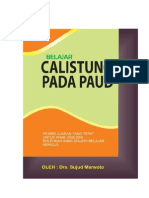 Belajar Calistung PAUD