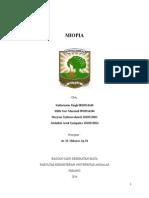 Referat Mata - Miopia