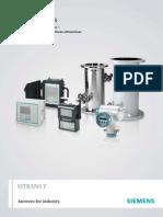 Medidores de Caudal Ultrasonicos - Siemens
