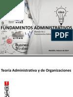 Modulo 1 Fundamentos Administrativos