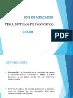 Guia 4 Modelos de Pronòsticos