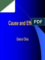 Karma - Cause and Effect (Grace Chiu)