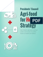 presidents' council agri-food for health strategy report