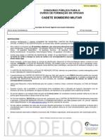 Prova Amarela - CFO CBMSC 2013