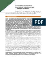 TDR_Consultant Advocacy_dernière Version Mars 2015
