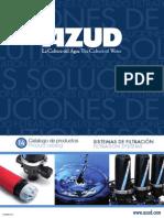 Catalogo Productos Filtracion Azud 2014