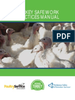 turkey safe work practices manual