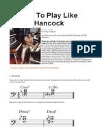 5 Ways to Play Like Herbie Hancock