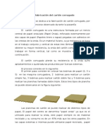 Proceso de Fabricación Del Cartón Corrugado