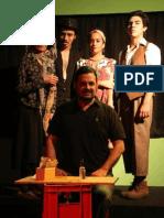 Mensaje Nacional por el Día Mundial del Teatro 2015- Perú