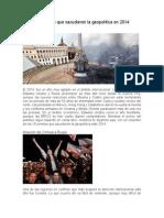 Eventos Que Sacudieron La Geopolítica en 2014