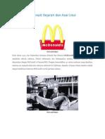 Restoran McDonald Sejarah dan Asal Usul.docx