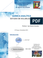 Exposición Ucla -Química Analítica