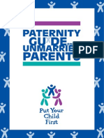 Paternity Guide for unmarried parents