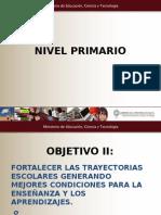 Plan Nacional de Educacion Obligatoria Primaria Linea 2 Objetivo 2