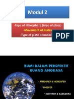 2 Type-movement-boundary of Plates