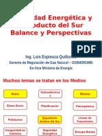 Seguridad Energetica y Masificacion Del Gas - Ing. Luis Esp