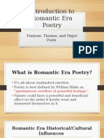 romantic poetry - introduction to romantic era poetry